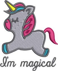 Little Unicorn embroidery design
