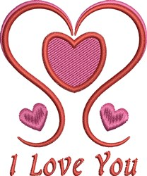 Valentine Sayings embroidery design
