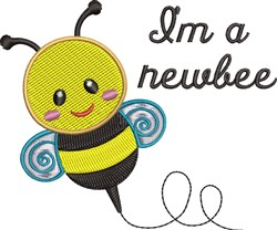 Im A Newbee embroidery design