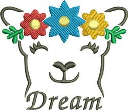 Flower Bear Dream embroidery design