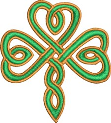 Irish Knot embroidery design