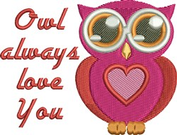 Always Love You embroidery design