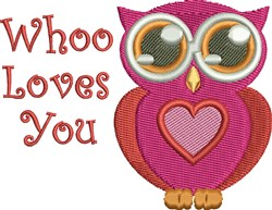 Who Loves You embroidery design