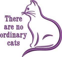 Purple Cat embroidery design