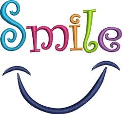 Smile Design embroidery design