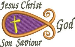 Jesus Christ embroidery design