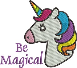 Be Magical embroidery design
