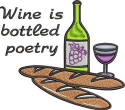 Bottled Poetry embroidery design