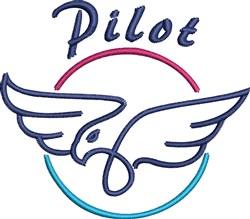 Pilot embroidery design