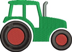 Farm Tractor embroidery design