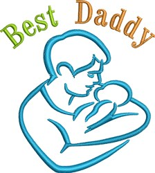 Best Daddy embroidery design