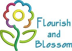Flourish And Blossom embroidery design