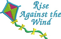 Rise Against The Wind embroidery design