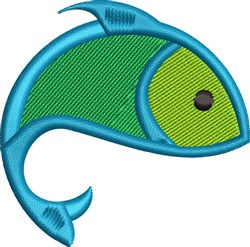 Little Fish embroidery design