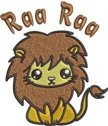 Raa Raa Lion embroidery design