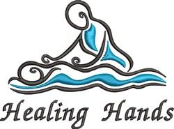 Healing Hands embroidery design