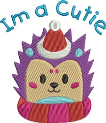 Im A Cutie embroidery design
