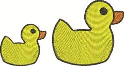 Rubber Ducks embroidery design