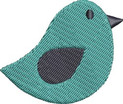 Simple Bird embroidery design