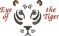 Eye Of Tiger embroidery design