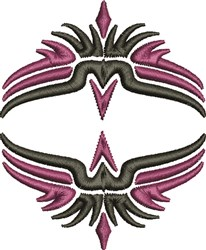 Double Eagles embroidery design