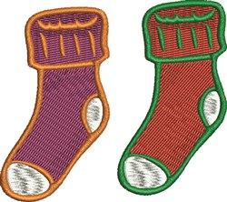 Christmas Stockings embroidery design
