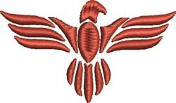 Firebird embroidery design