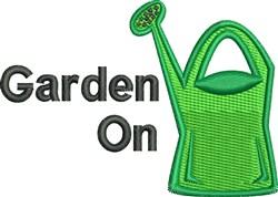 Garden On embroidery design