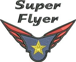 Super Flyer embroidery design