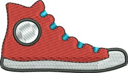 Gym Shoe embroidery design