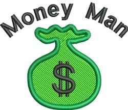 Money Man embroidery design