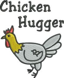 Chicken Hugger embroidery design