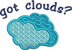Got Clouds embroidery design