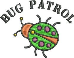 Bug Patrol embroidery design