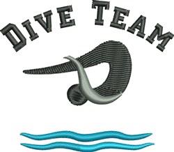 Dive Team embroidery design