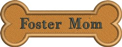 Foster Mom embroidery design