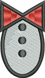 Groom Tuxedo embroidery design