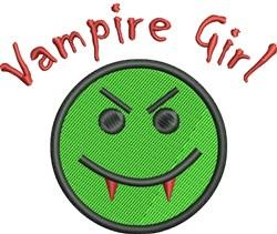 Vampire Girl embroidery design