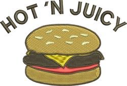 Hot N Juicy embroidery design