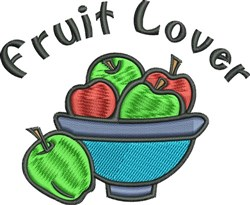 Fruit Lover embroidery design