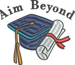 Aim Beyond embroidery design