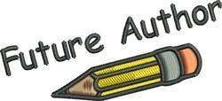 Future Author embroidery design