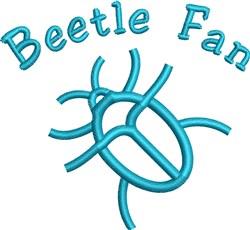 Beetle Fan embroidery design