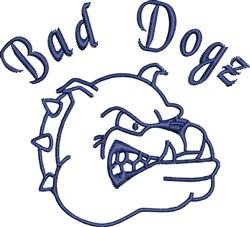 Bad Dogz embroidery design