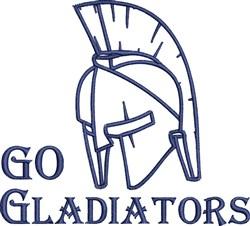 Go Gladiators embroidery design