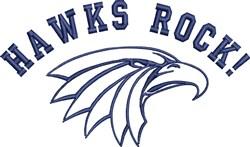 Hawks Rock embroidery design