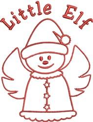 Little Elf embroidery design