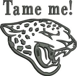 Leopard Outline embroidery design