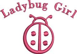 Small Ladybug Outline embroidery design