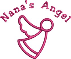 Nanas Angel embroidery design